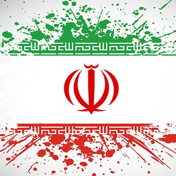 عکس پرچم ایران لایه باز